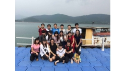 Journey to Dongjiang Lake (Hu nan Province) on July 2015